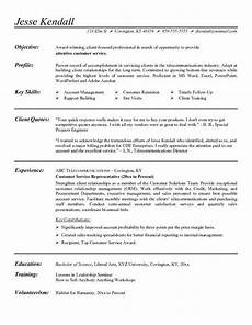 Career Objective Examples For Customer Service Customer Service Representative Resume Objective Examples