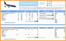 Travel Plan Excel 5 Trip Planner Template Excel Excel Templates Excel