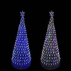Wire Christmas Tree With Led Lights Home Accents Holiday 6 Ft Pre Lit Led Tree Sculpture With