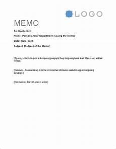 Memo Style Letter Free Memorandum Template Sample Memo Letter