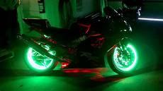 Led Light Kits For Motorcycles Motorcycle Wheel Light Kit Youtube