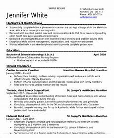 Resume For Nurses Applying Abroad Nursing Student Resume Example 11 Free Word Pdf