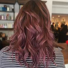 Light Brown Mauve Hair This Trending Chocolate Mauve Shade Is Perfect For