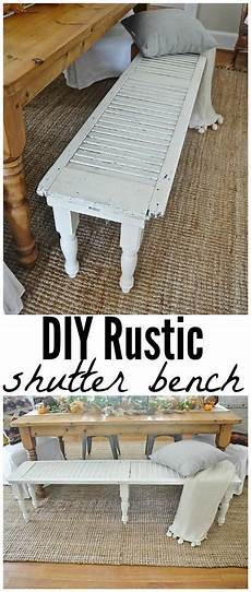 diy projects rustic 13 creative diy projects you can do with window shutters