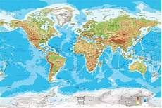 Geographic Map Global Patterns Of Physical And Human Features Hsie