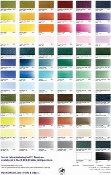 Pan Pastel Color Chart Panpastel Color Chart Colorful Paintings Acrylic Pastel