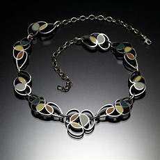 Kinzig Design Jewelry Scribble Necklace Blue Kinzig Design Studios In 2020