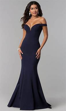 zoey grey the shoulder prom dress promgirl