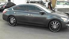 2013 Nissan Altima Rims by 877 544 8473 22 Quot Inch Velocity 865 Black Rims 2013 Nissan