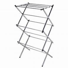 clothes rack foldable 3 tier folding water resistant steel clothes drying rack
