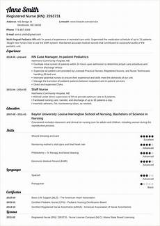 New Rn Resume Standard Resume Format For Experienced Pdf With Images