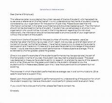 Eb1 Recommendation Letter 50 Sample Reference Letter Templates Free Word Pdf Doc