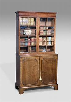 small antique bookcase cabinet library bookcase georgian