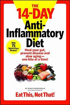 the 14 day anti inflammatory diet book by mike zimmerman