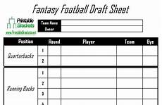 One Page Nfl Depth Chart Blank Draft Sheet For Football White Gold