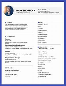 Editable Resume Template 50 Most Professional Editable Resume Templates For