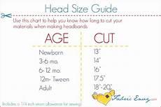 Foe Headband Chart 57 Best Images About Head Sizing Chart On Pinterest