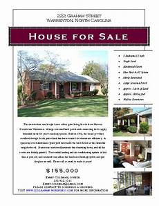 Home For Sale By Owner Flyer Graphic Design A Line Design