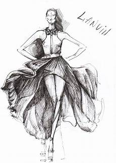 fashion design sketches of dresses foto 2014 2015
