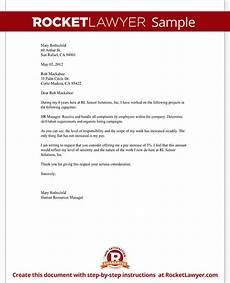 Letter Requesting Raise In Salary Salary Increase Letter Asking For A Raise Rocket Lawyer