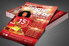 Specials Flyer Template Game Day Specials Flyer Template Creative Photoshop