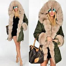 winter fur coats for ulla roiii winter warm thick parka faux fur