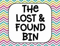 Lost And Found Sign Lost And Found Bin Printable Sign By Everyday With Ms K Tpt