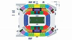 Titans Stadium Seating Chart The Official Site Of The Tennessee Titans