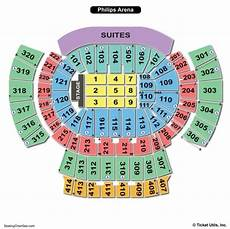 Usair Arena Seating Chart Philips Arena Seating Chart Seating Charts Amp Tickets