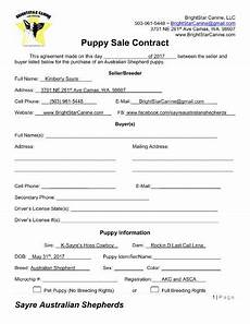 Puppy Contract Of Sale 8 Puppy Sales Contract Templates Word Google Docs