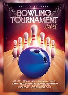Bowling Flyer 27 Bowling Flyer Templates Psd Ai Eps Vector Format