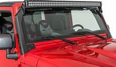 Jeep Overhead Light Bar Kc Hilites 366 Overhead Mount C50 Led Bar Amp Bracket Kit