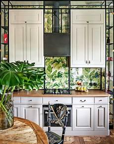 kitchen backsplash ideas that aren t tile architectural - Kitchen Backsplash Wallpaper Ideas