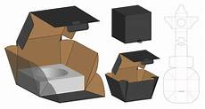 Box Template Design Box Packaging Die Cut Template Design Vector Premium