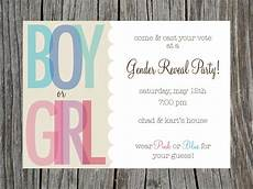 Free Printable Gender Reveal Invitations Gender Reveal Party Invitation Printable By Printyourheartout