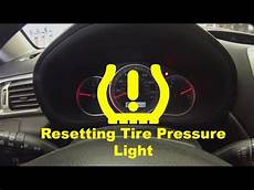 Reset Tire Pressure Light Toyota Tacoma How To Reset Tire Pressure Monitoring System Tpms Lig