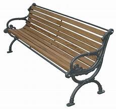 panchina in ferro panchina tedesca legno esotico per parco e giardino 4017