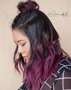 Black To Light Pink Ombre Hair 50 Cool Ideas Of Lavender Ombre Hair And Purple Ombre