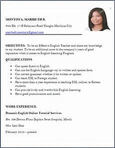 Resume Format Application Resume Format Slim Image