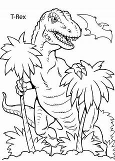 Malvorlagen Dinosaurier T Rex T Rex Dinosaur Coloring Pages For Printable Free
