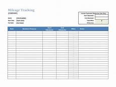 Mileage And Expense Log 30 Printable Mileage Log Templates Free ᐅ Template Lab