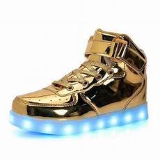 Kids Gold Light Up Shoes Aliexpress Com Buy 2017 Fashion Children Kids Light Up