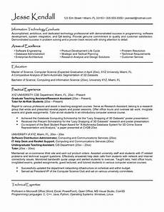 Resumes For Graduating College Students University Student Student Resume Template Resume For