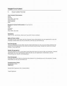 Cover Letter For Online Application Sample Cover Letter Format For Job Application