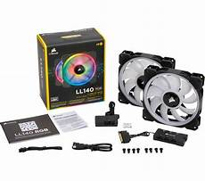 Lighting Node Pro How Many Fans Buy Corsair Ll140 140 Mm Case Fan With Lighting Node Pro