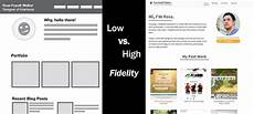 High Fidelity Design User Experience Design The Importance Of Wireframe