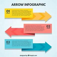 Infographic Arrow Arrow Infographic In Flat Design Vector Free Download