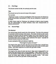 Report Writing Format Download Project Report Format 28 Free Pdf Word Documents