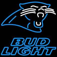 Bud Light Neon Nfl Bud Light Carolina Panthers Neon Sign Neon