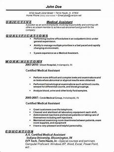 Medical Assistance Resume Free 13 Sample Resume Templates In Ms Word